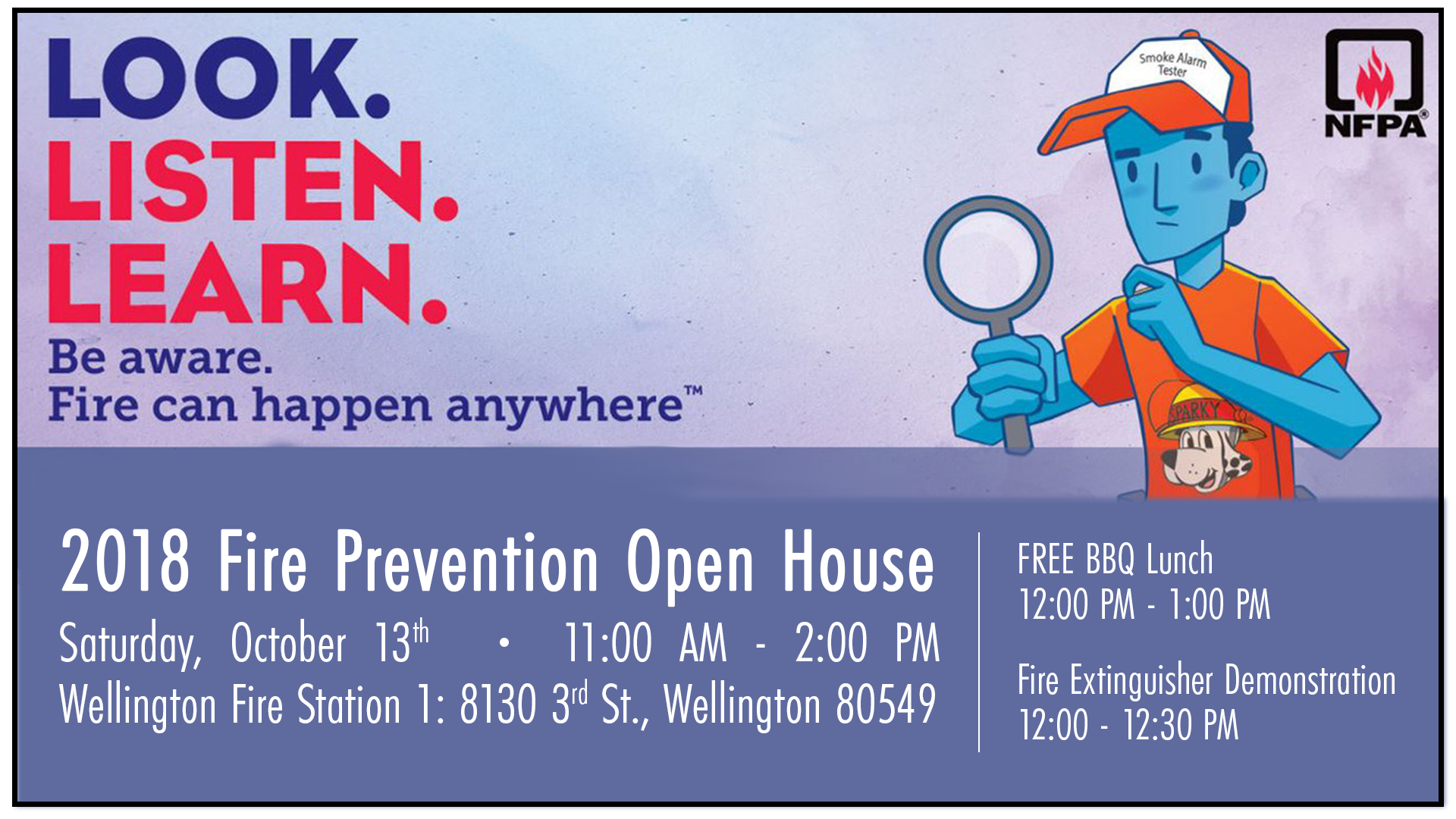2018 fire prevention open house