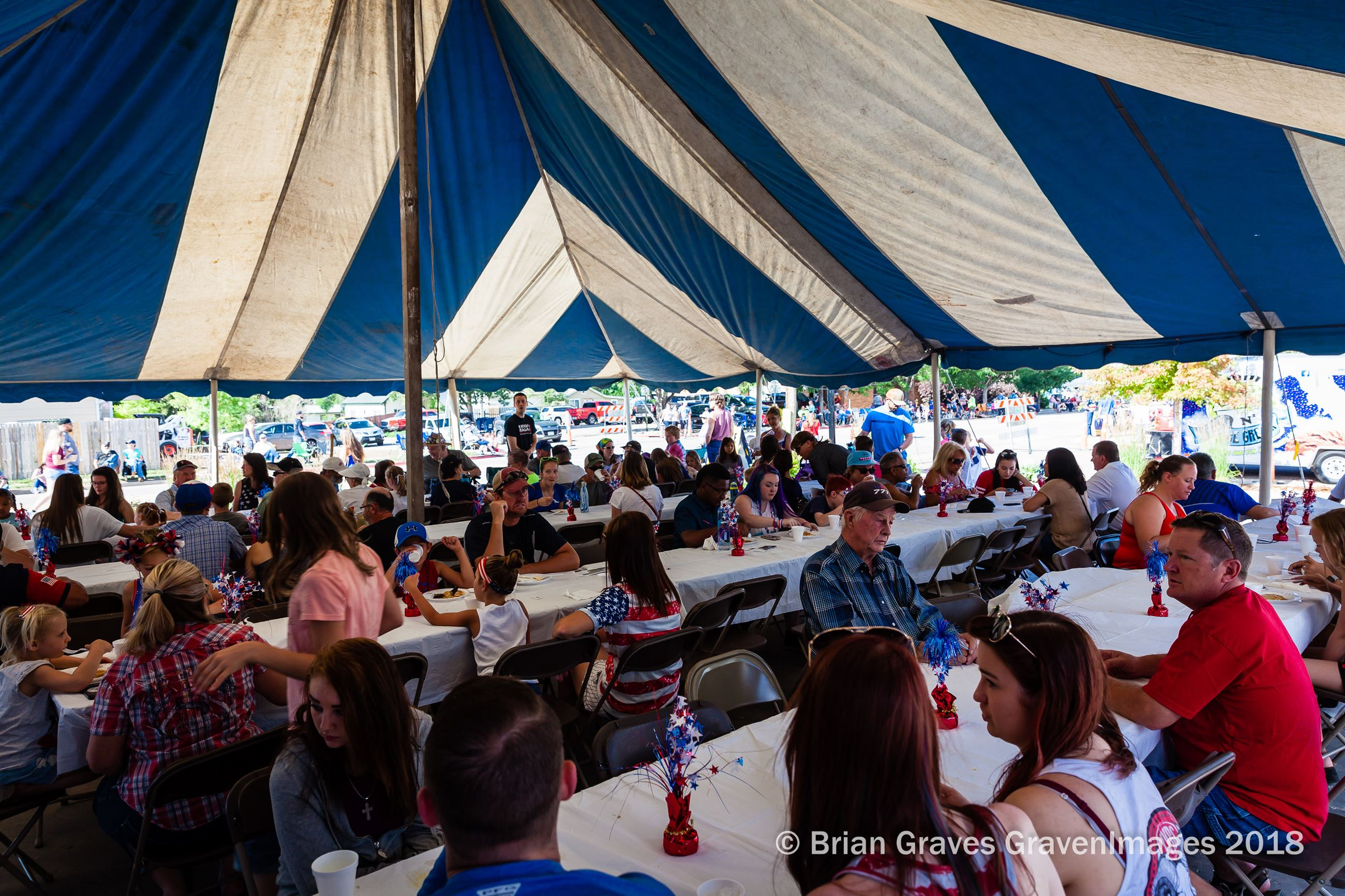 July 4th Under the Tent