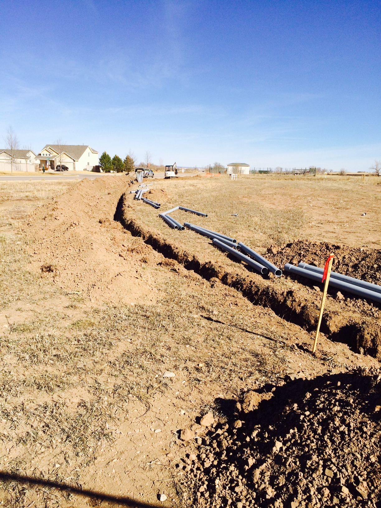 Electrical Trenching Conduits
