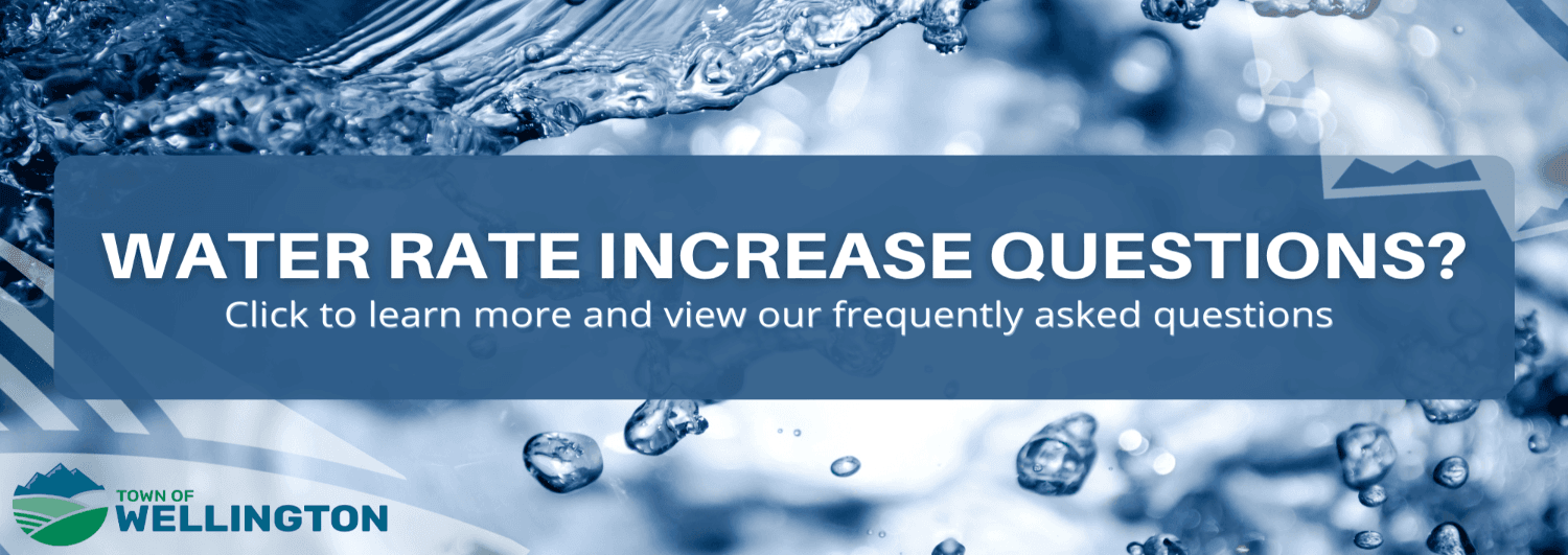 Water rate increase FAQ