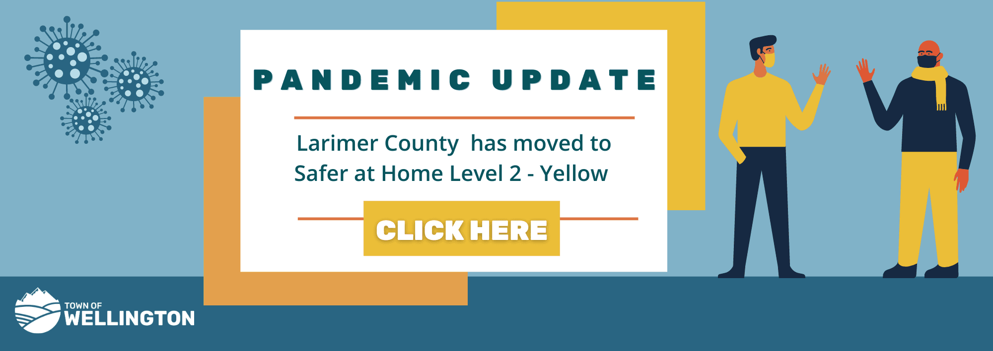 Larimer County Moves to Level 2- Yellow Click for More Information