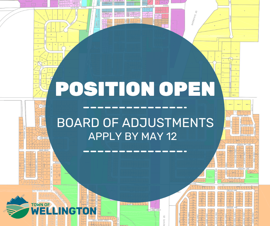 BOARD OF ADJUSTMENTS POSITION OPEN