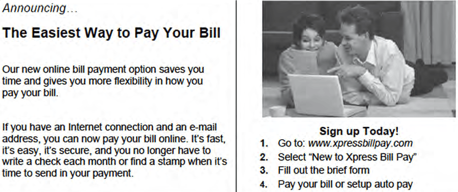 Utility Billing is Changing | Wellington, CO